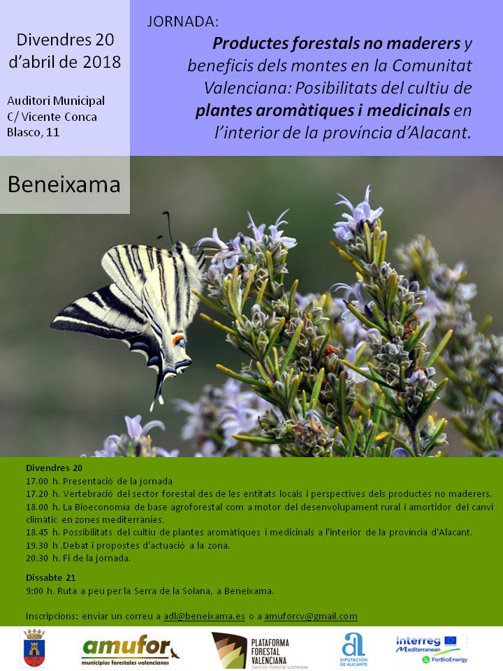 beneixama-Jornada sobre les posibilitats del cultiu de plantes aromatiques i medicinals