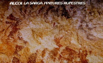 La Sarga, Alcoi, Arte Rupestre