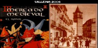 Villena - Mercado Medieval., año 2004